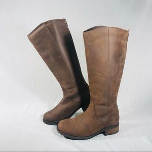 UGG Seldon Suede Leather Brown Knee High Boots